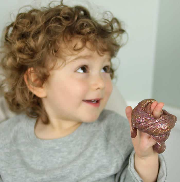 Galaxy Slime DIY (free of Borax & other harsh chemicals!)