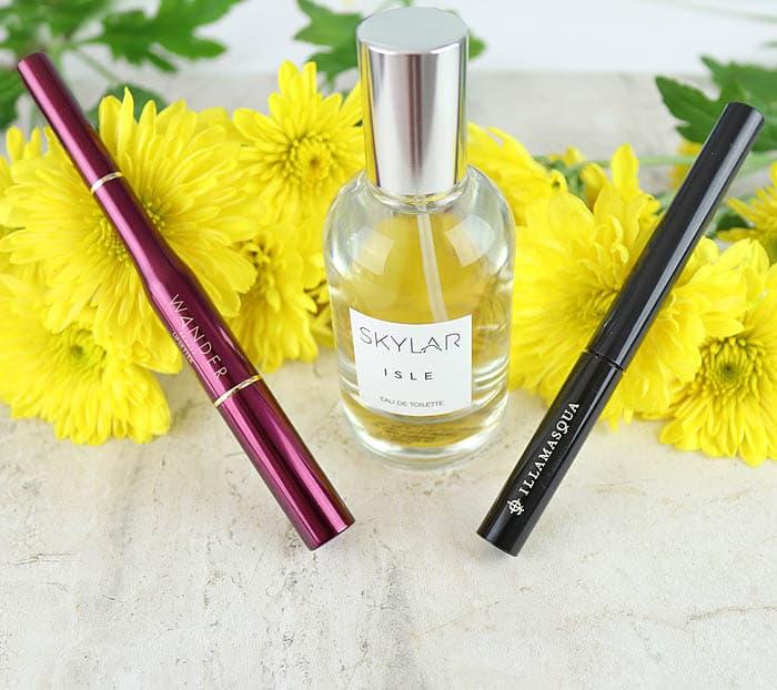 Skylar Isle Perfume, Wander Beauty, Illamasqua eyeliner