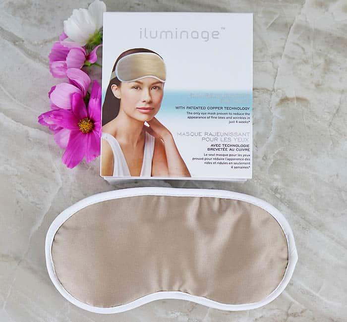 Iluminage Skin Rejuvenating Eye Mask Review by Gina Michele