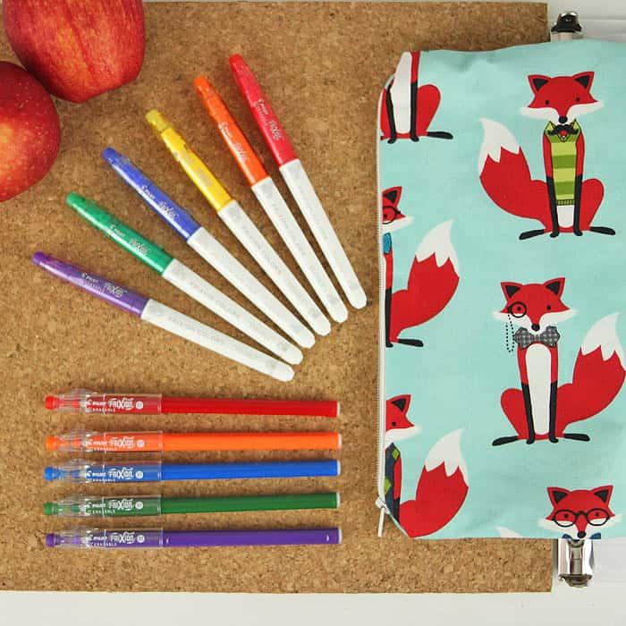 3 Ring Binder Pencil Case DIY