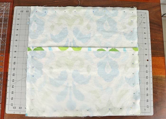 How to Sew an Envelope Pillow- video tutorial included!