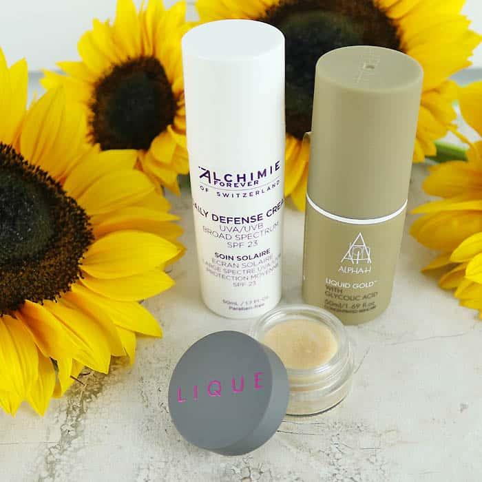 AlphaH Liquid Gold Alchimie Forever Daily Defense Cream, Lique Conditioning Scrub