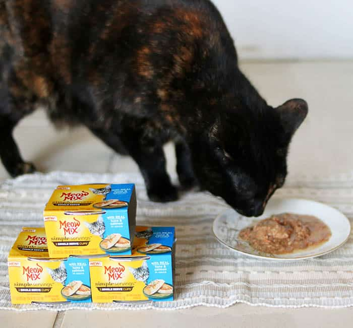 Meow Mix Simple Servings