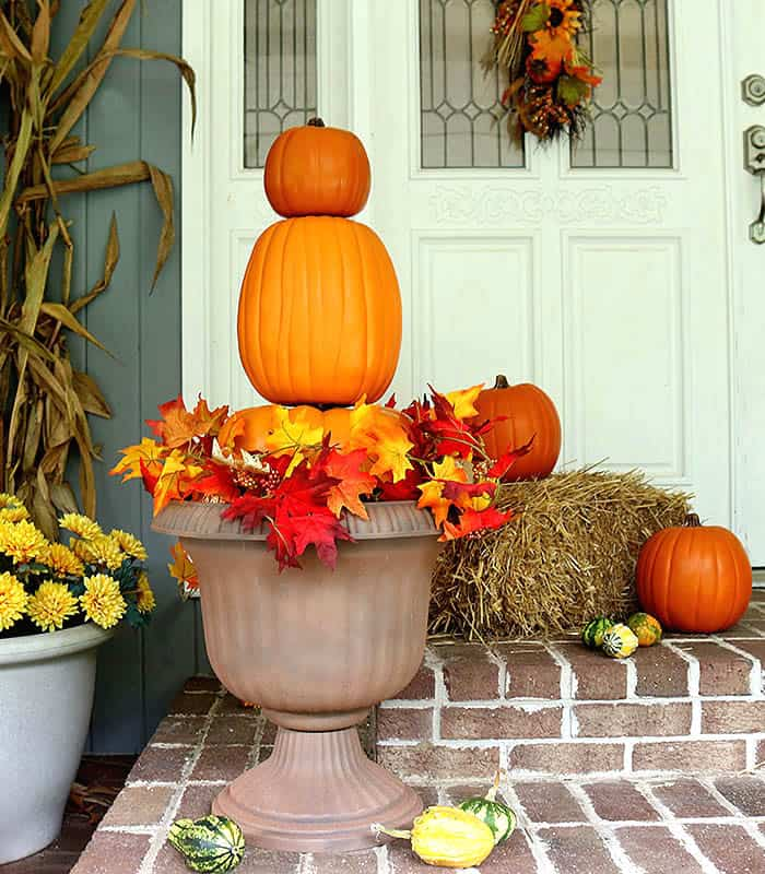 Pumpkin Topiaries DIY