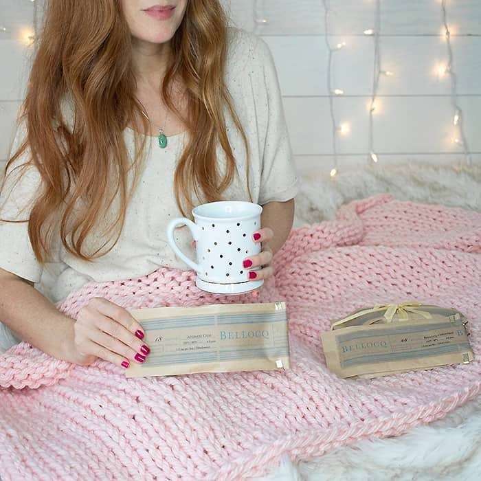 Chunky Throw Knitting Pattern and Supporting Small Business With Paypal