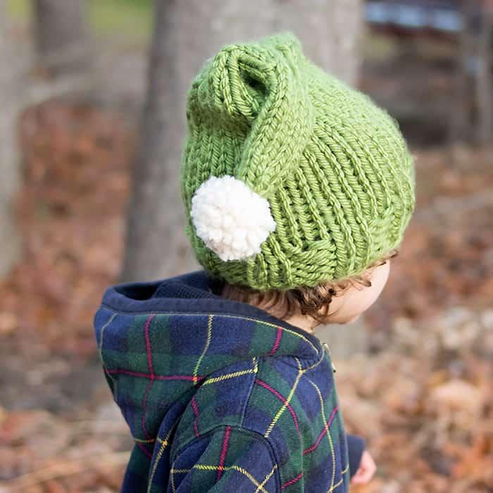 Elf Hat Free Knitting Pattern