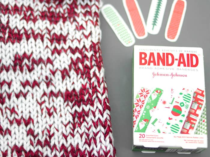 Easy Christmas Stocking Knitting Pattern - Gina Michele