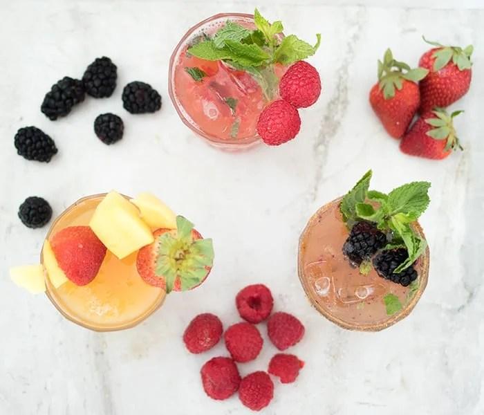 Kombucha Mocktails- 3 Ways