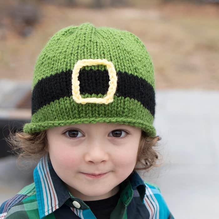 free leprechaun hat knitting pattern