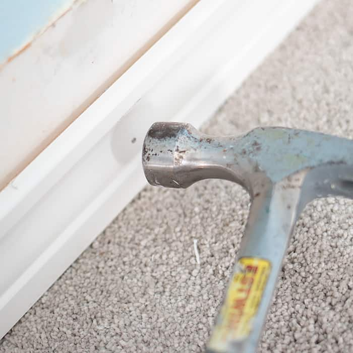 Easy DIY Wainscoting