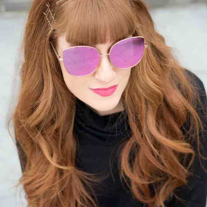 Foster Grant Mirror Sunglasses
