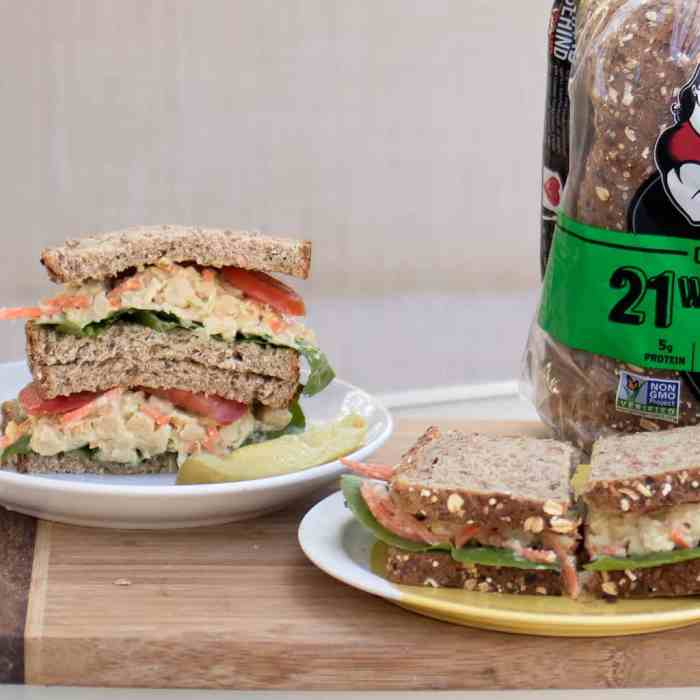 Best Vegan Smashed Chickpea Salad Sandwich