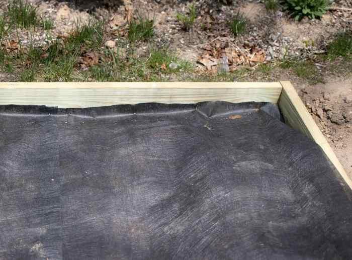 Pea Gravel Patio DIY