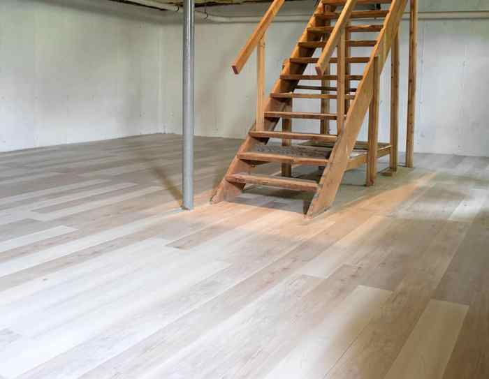 Installing Luxury Vinyl Plank Flooring, Vinyl Plank Flooring Basement