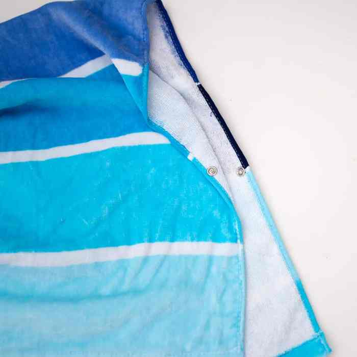 How to Sew a Kids Beach Towel Poncho