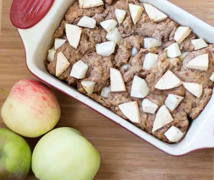 Vegan Apple Pie Bread