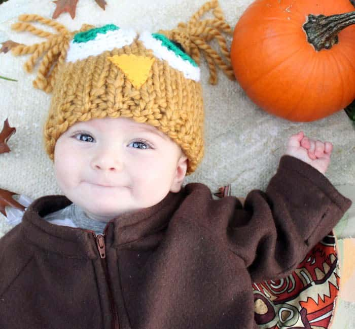 Baby Owl Halloween Costume DIY