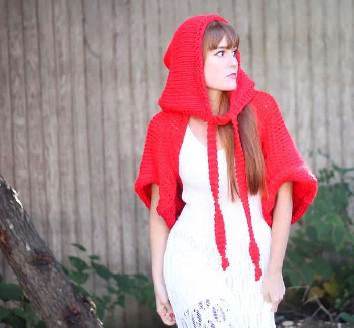 Little Red Riding Hood Costume Knitting Pattern