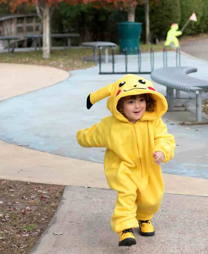 DIY Pikachu Costume