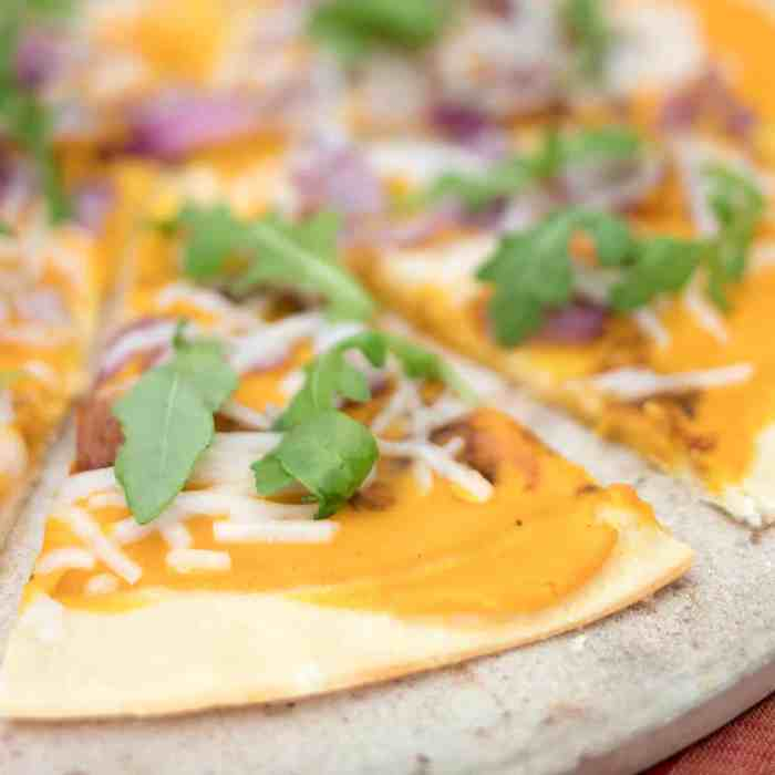 Vegan Butternut Squash Pizza