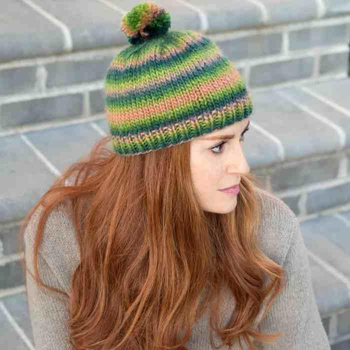 Basic Beanie Knitting Pattern by Gina Michele Blog