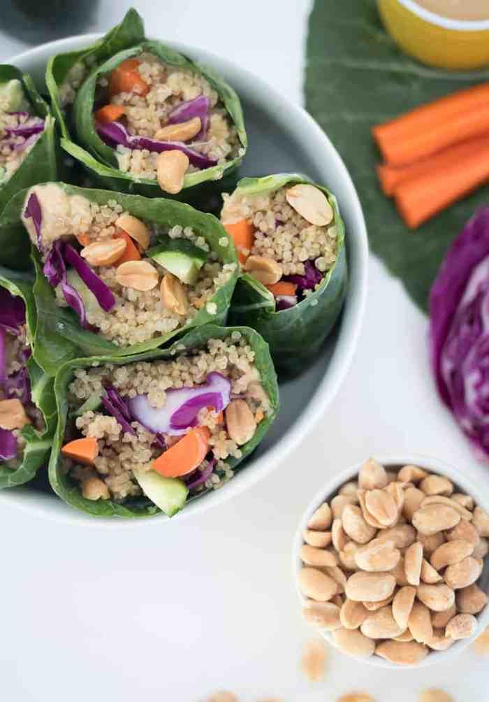 Vegan Rainbow Wraps