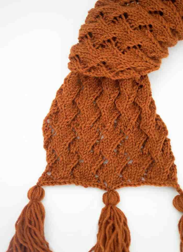 Zig Zag Scarf Knitting Pattern