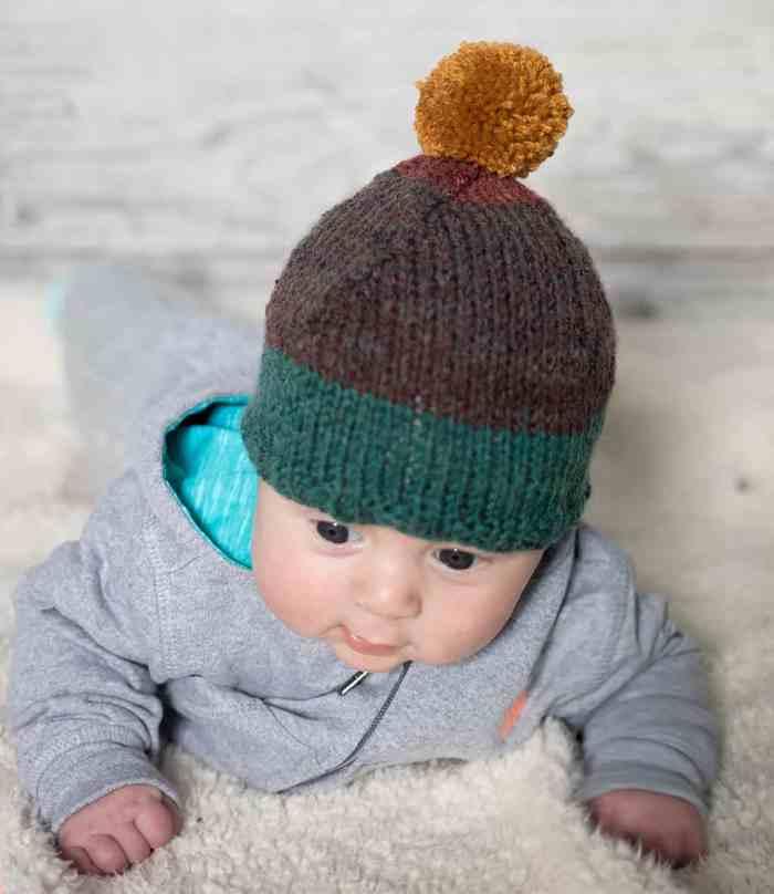 Baby Pixie Hat Knitting Pattern