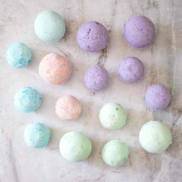 Easy DIY Bath Bomb Recipe- Step by Step Tutorial