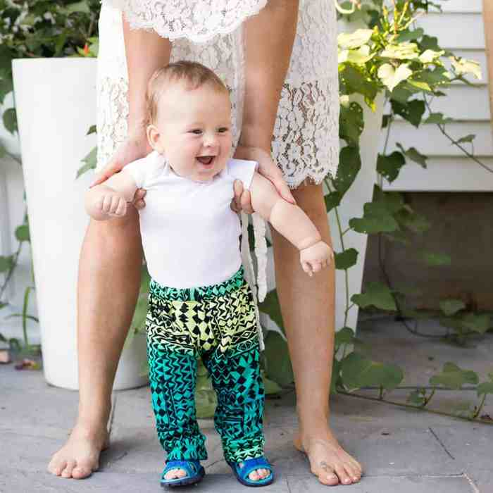 How to Sew Baby Pants Without a Pattern