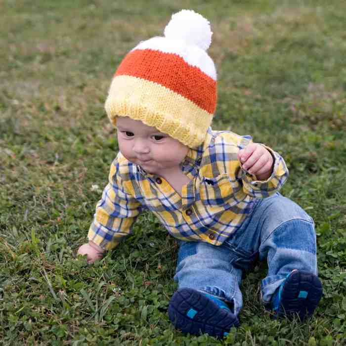 Baby Candy Corn Hat Knitting Pattern by Gina Michele blog