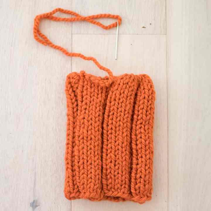 Easiest Large Pumpkin Knitting Pattern