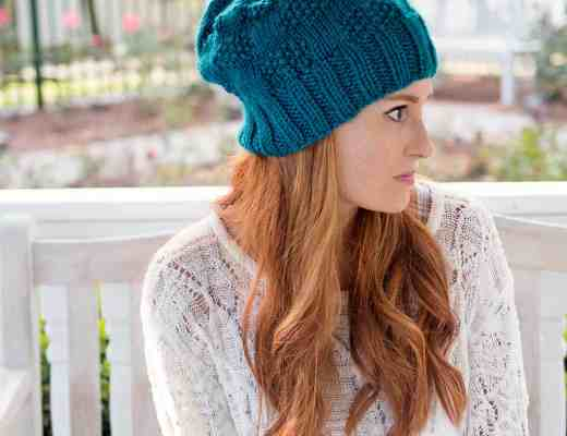 Slouch Hat Free Knitting Pattern