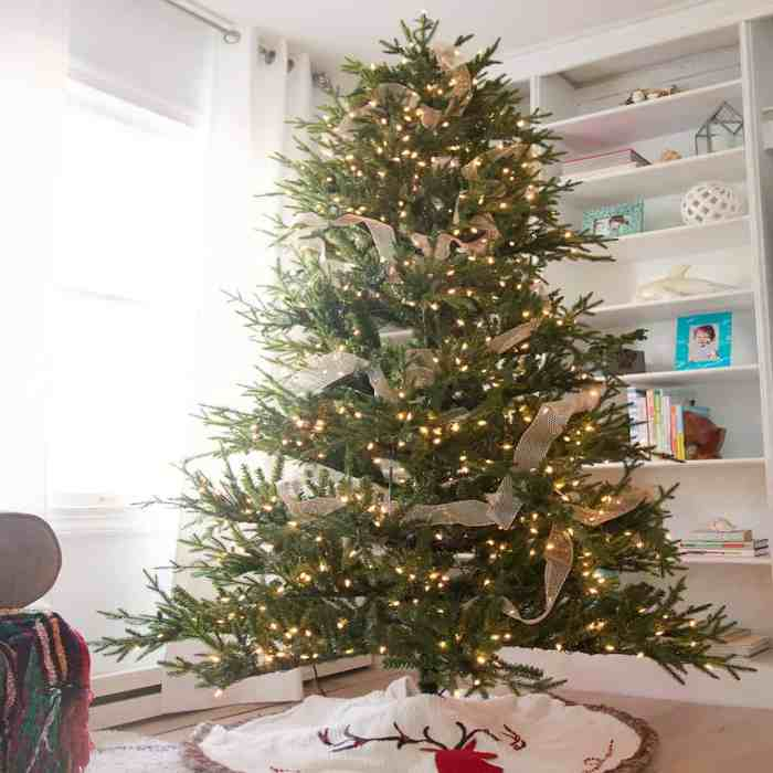 5 Easy Christmas Tree Decorating Tips