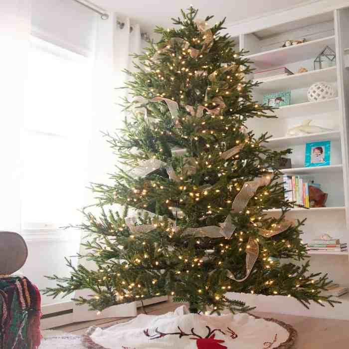5 Easy Christmas Tree Decorating Tips