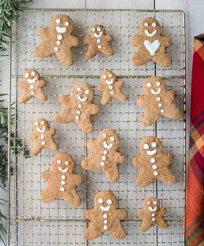 The Best Vegan Gingerbread Cookies