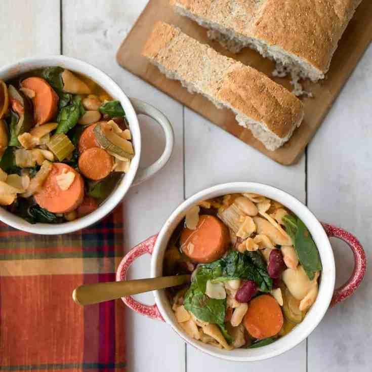 Easy Instant Pot Vegan Minestrone Soup