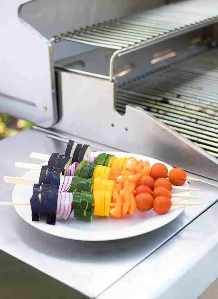 The Best Rainbow Veggie Skewers Sponsored by Wayfair