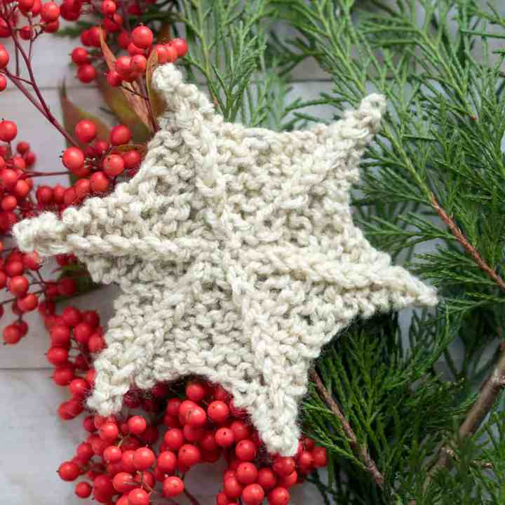 How to Knit a Star Shape