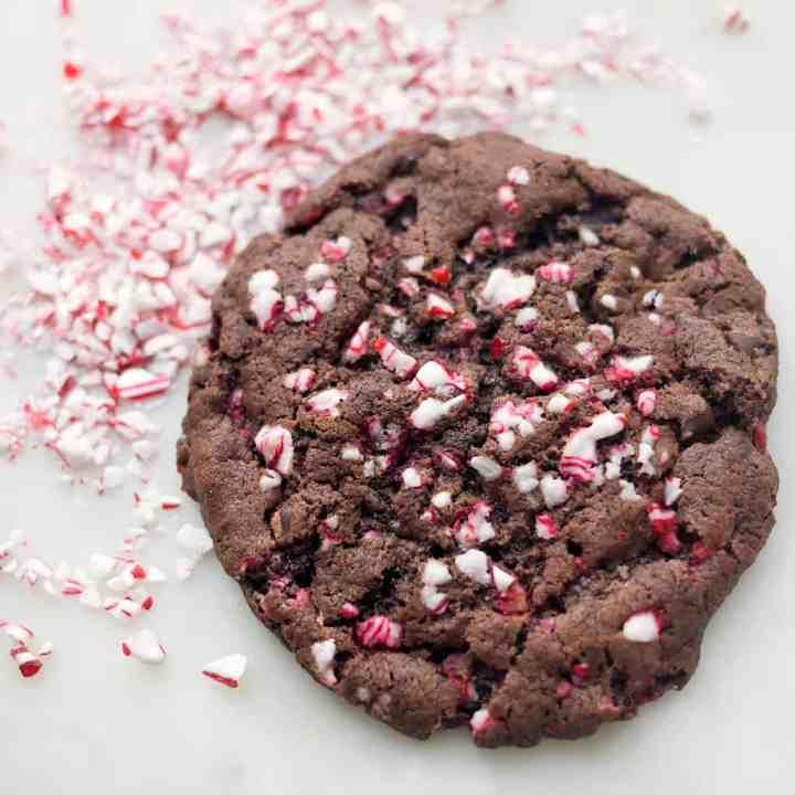 Amazing Vegan Chocolate Peppermint Cookies