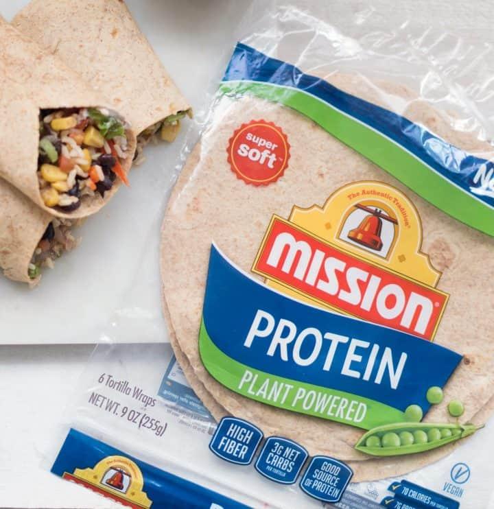 The Best Vegan Protein Burrito