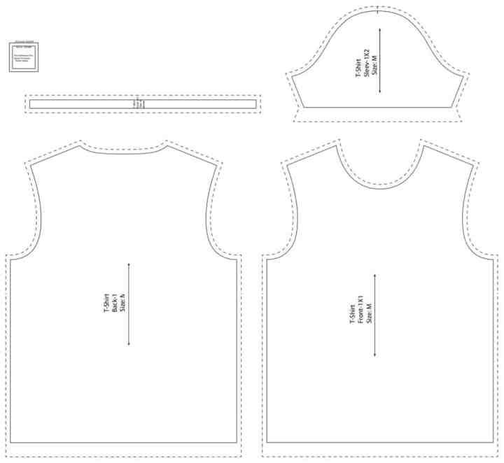 Free T Shirt Sewing Pattern for Boys and Girls