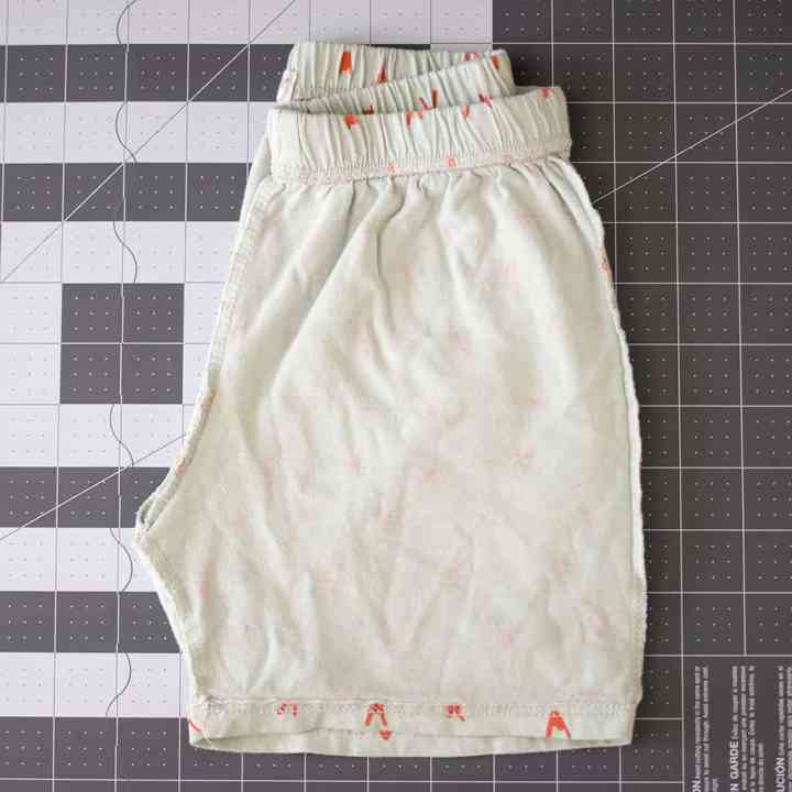 How to Make a Sewing Pattern out of Existing Shor