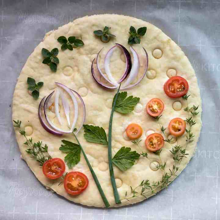 Easy Vegan Focaccia Bread