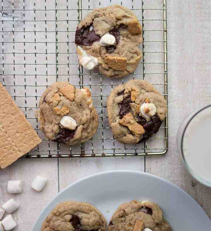 Best Vegan Smores Cookies