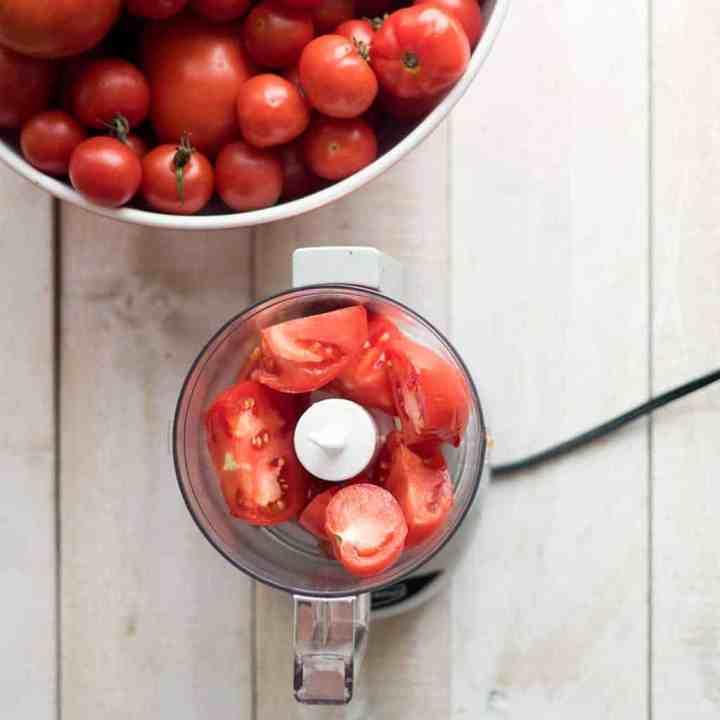 Easiest Fresh Tomato Sauce No Peeling