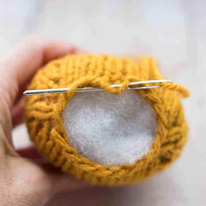 Plush Candy Corn Knitting Pattern