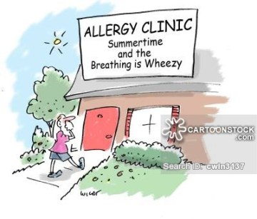 Allergy Clinic: Summertime and the Breathing is Wheezy.