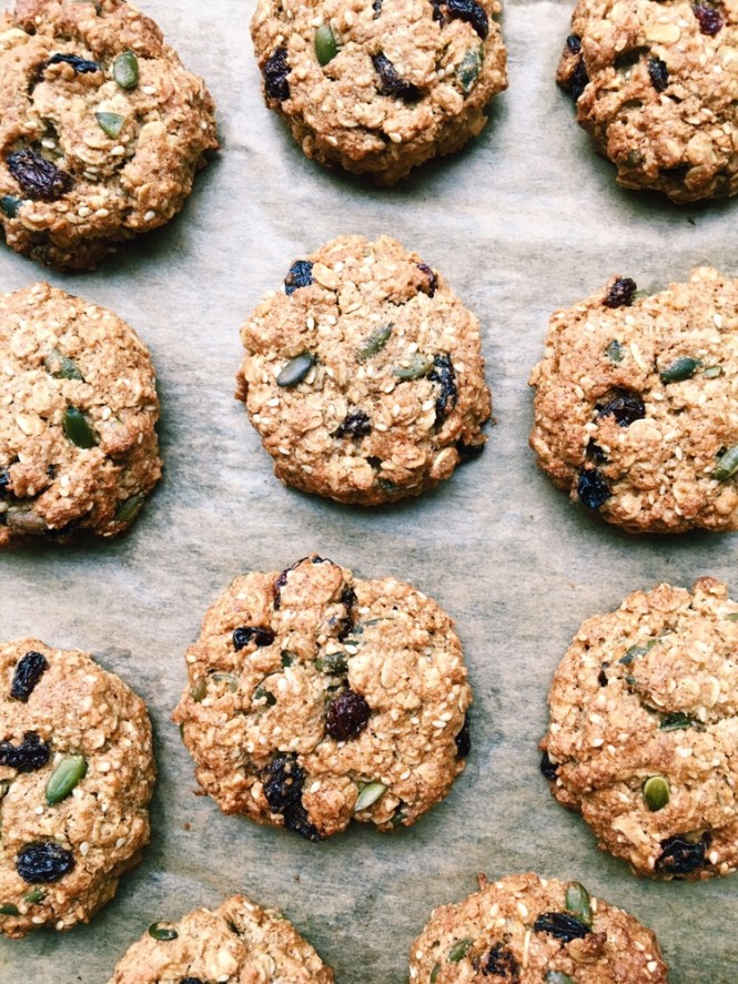 Vegan Trail Mix Cookies {vegan, gluten free}