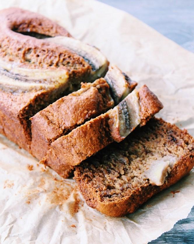 Easy Vegan Banana Bread {vegan, gluten free}
